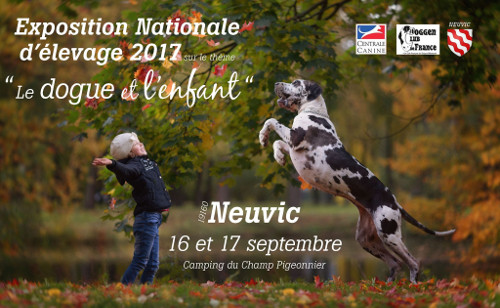 Poster of l'exposition nationale d'élevage in Neuvic 2017